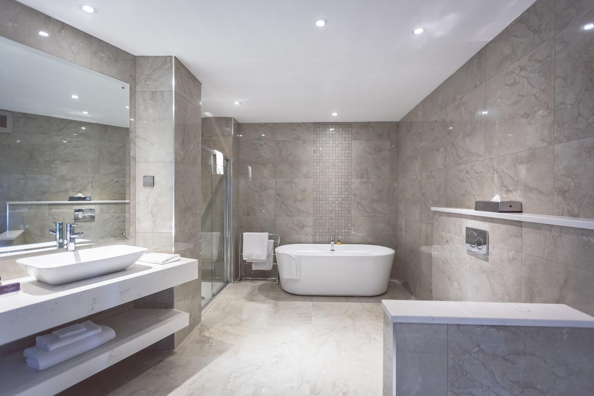 commercial bathroom design installation and renovation - Commercial Bathroom